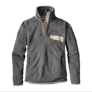 Women's Patagonia Re-tool snap-fleece pullover